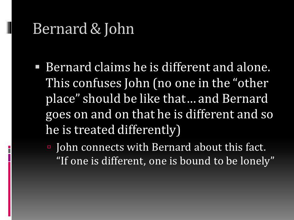 Bernard & John