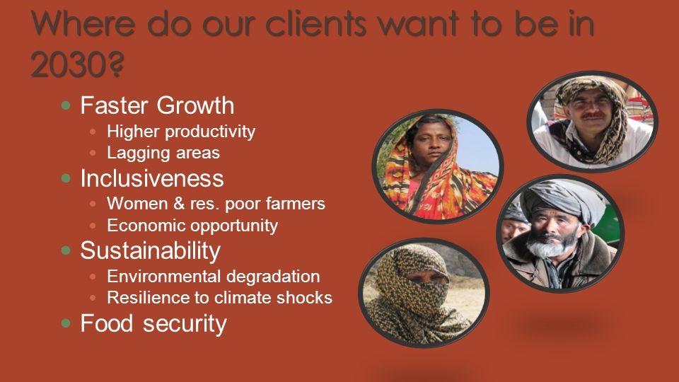 Where do our clients want to be in 2030