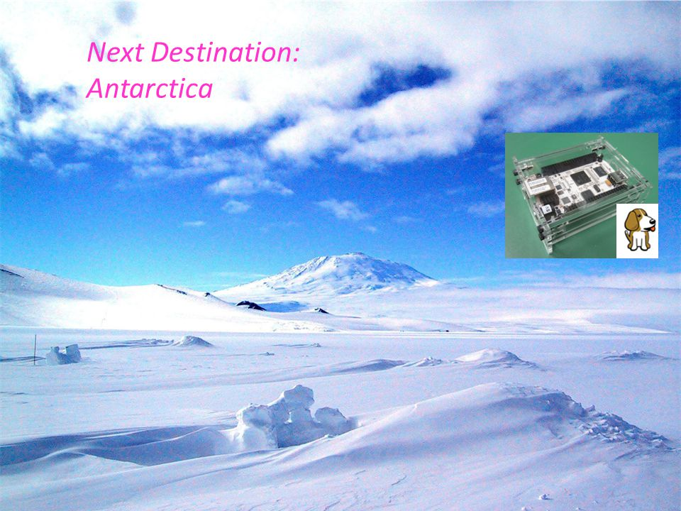 Next Destination: Antarctica