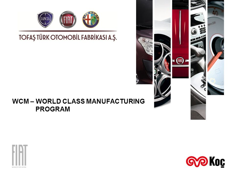 WCM – WORLD CLASS MANUFACTURING