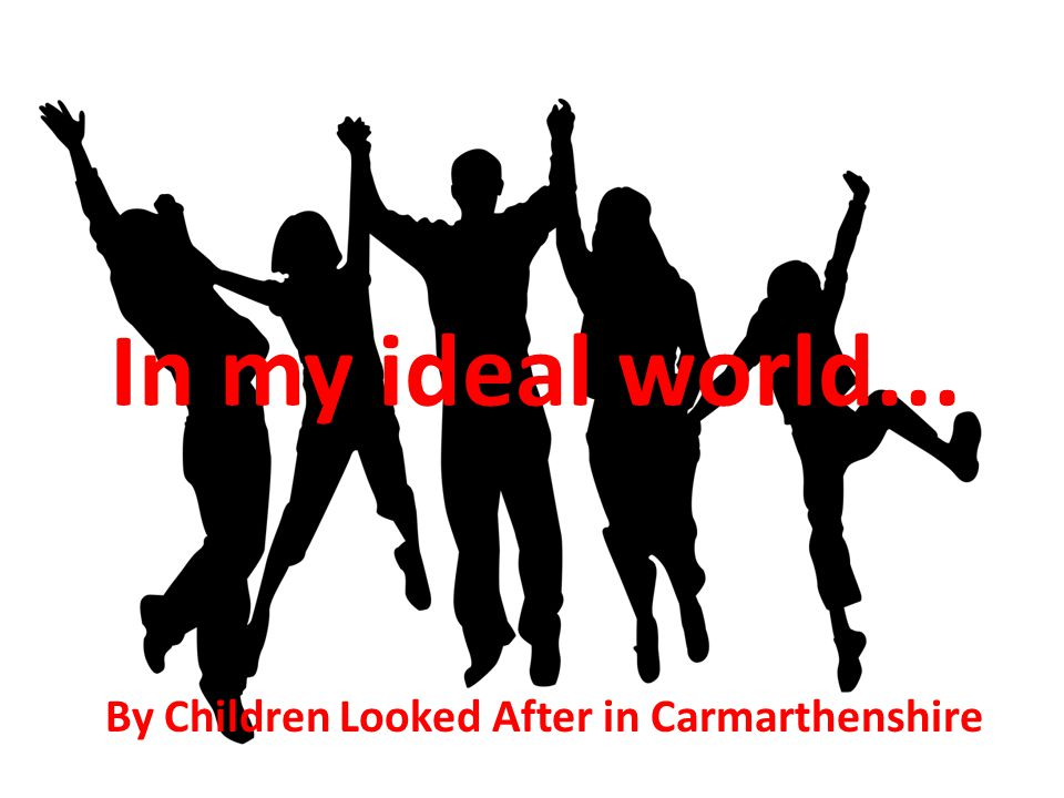 By Children Looked After in Carmarthenshire