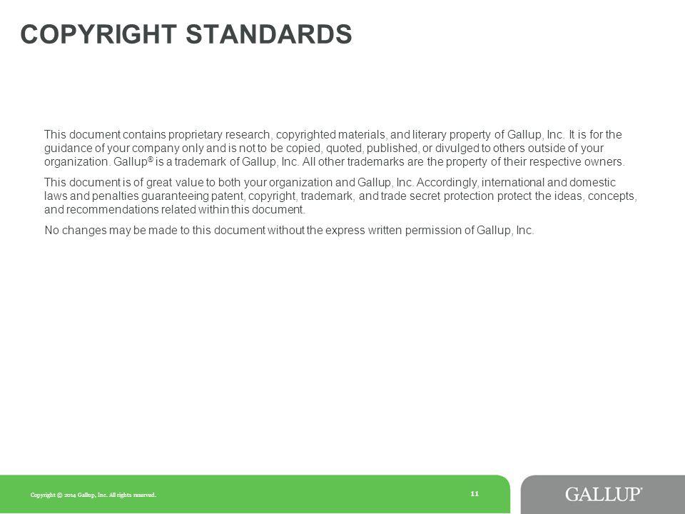Copyright Standards