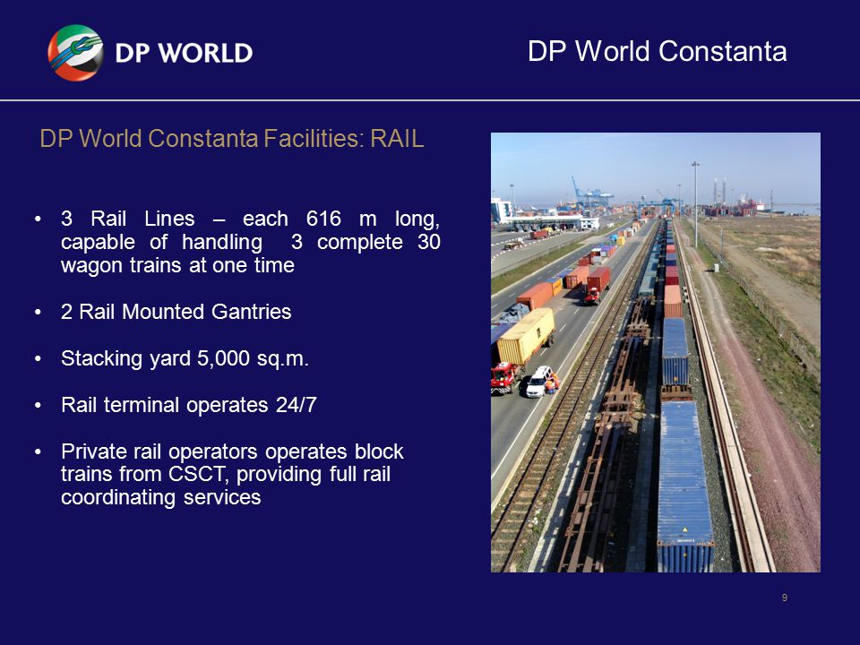 DP World Constanta DP World Constanta Facilities: RAIL