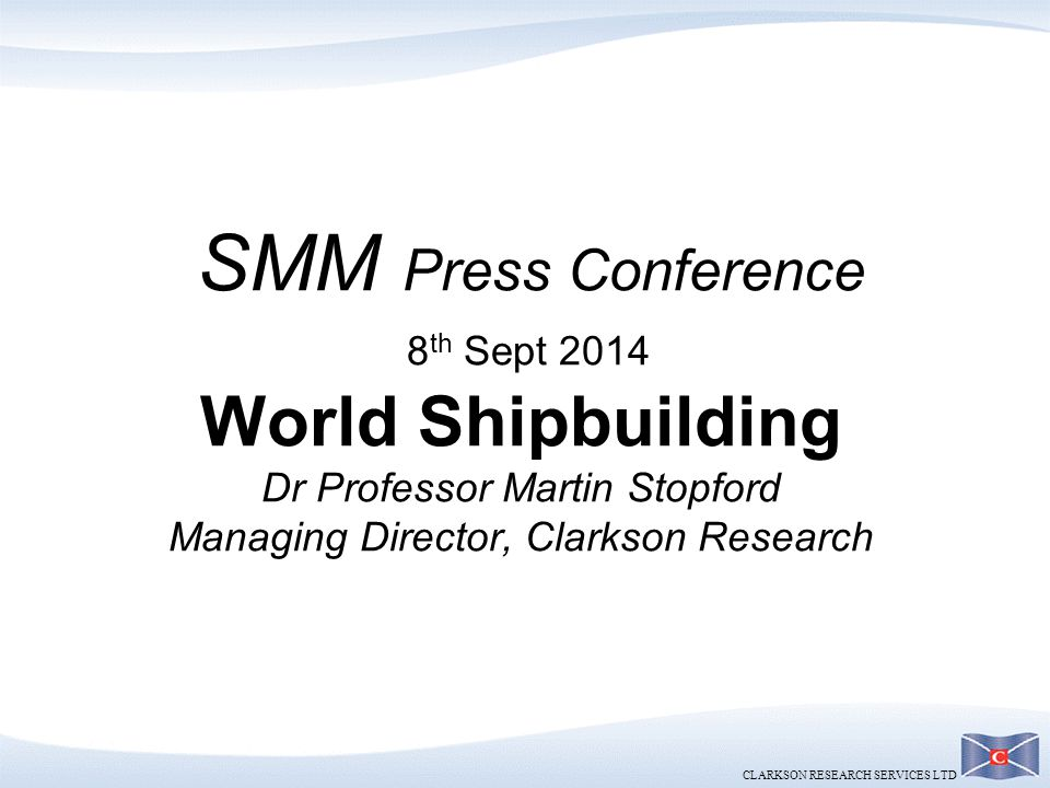 SMM Press Conference - Shipbuilding (Final)