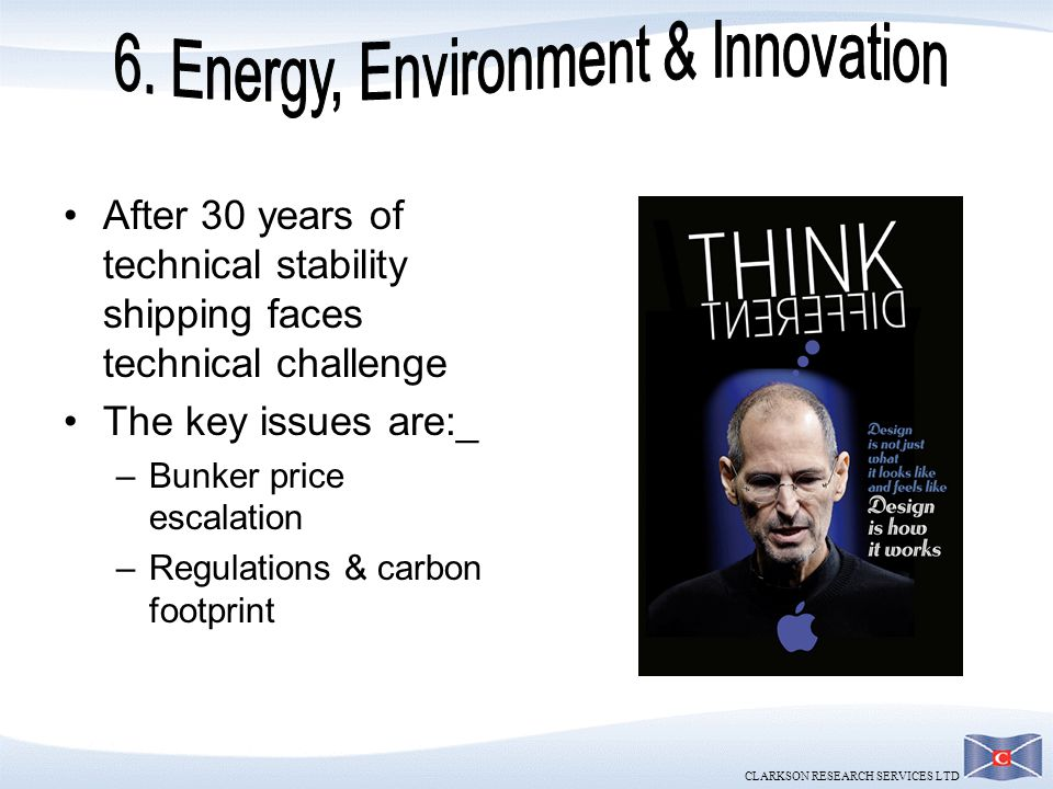 6. Energy, Environment & Innovation