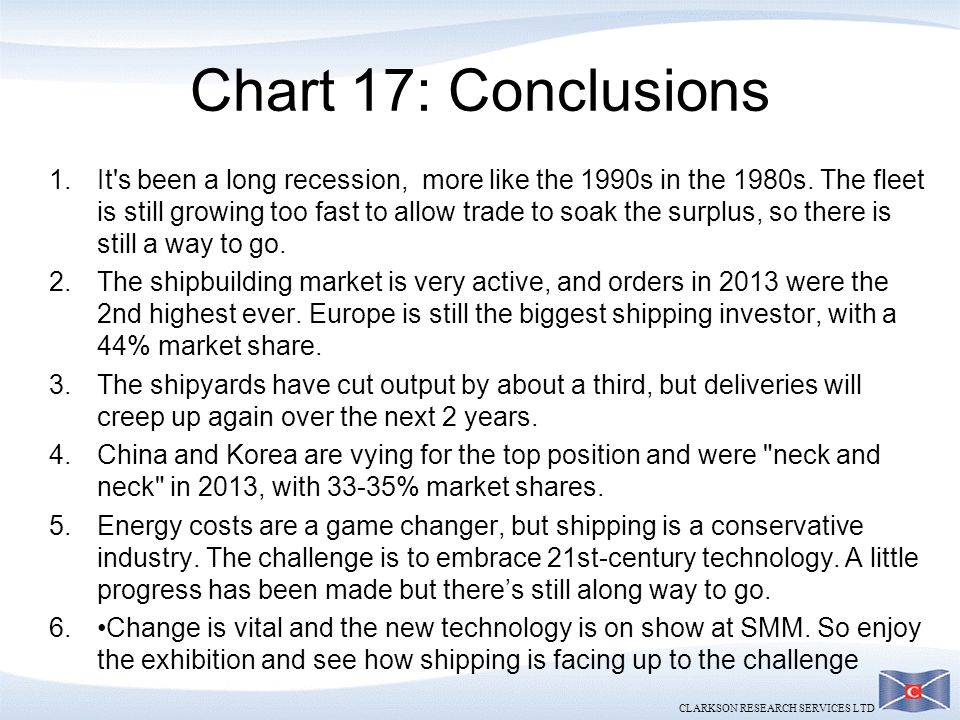 Chart 17: Conclusions