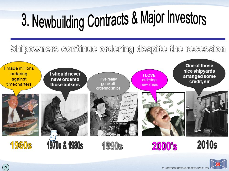 3. Newbuilding Contracts & Major Investors
