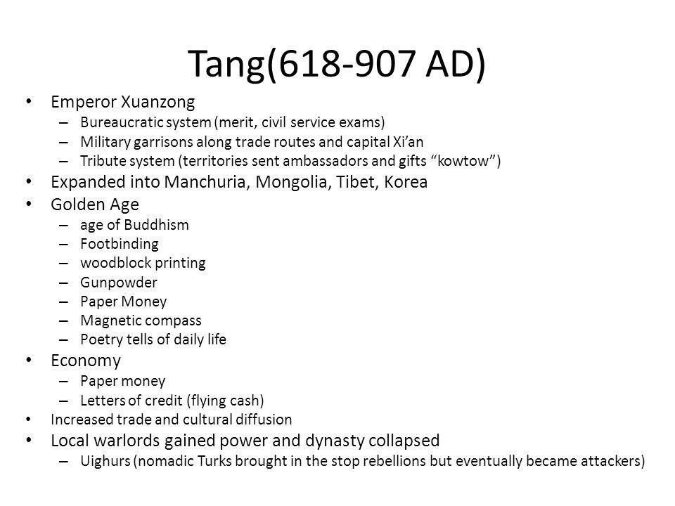 Tang(618-907 AD) Emperor Xuanzong