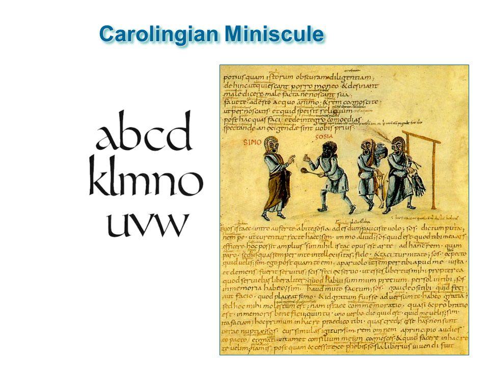Carolingian Miniscule