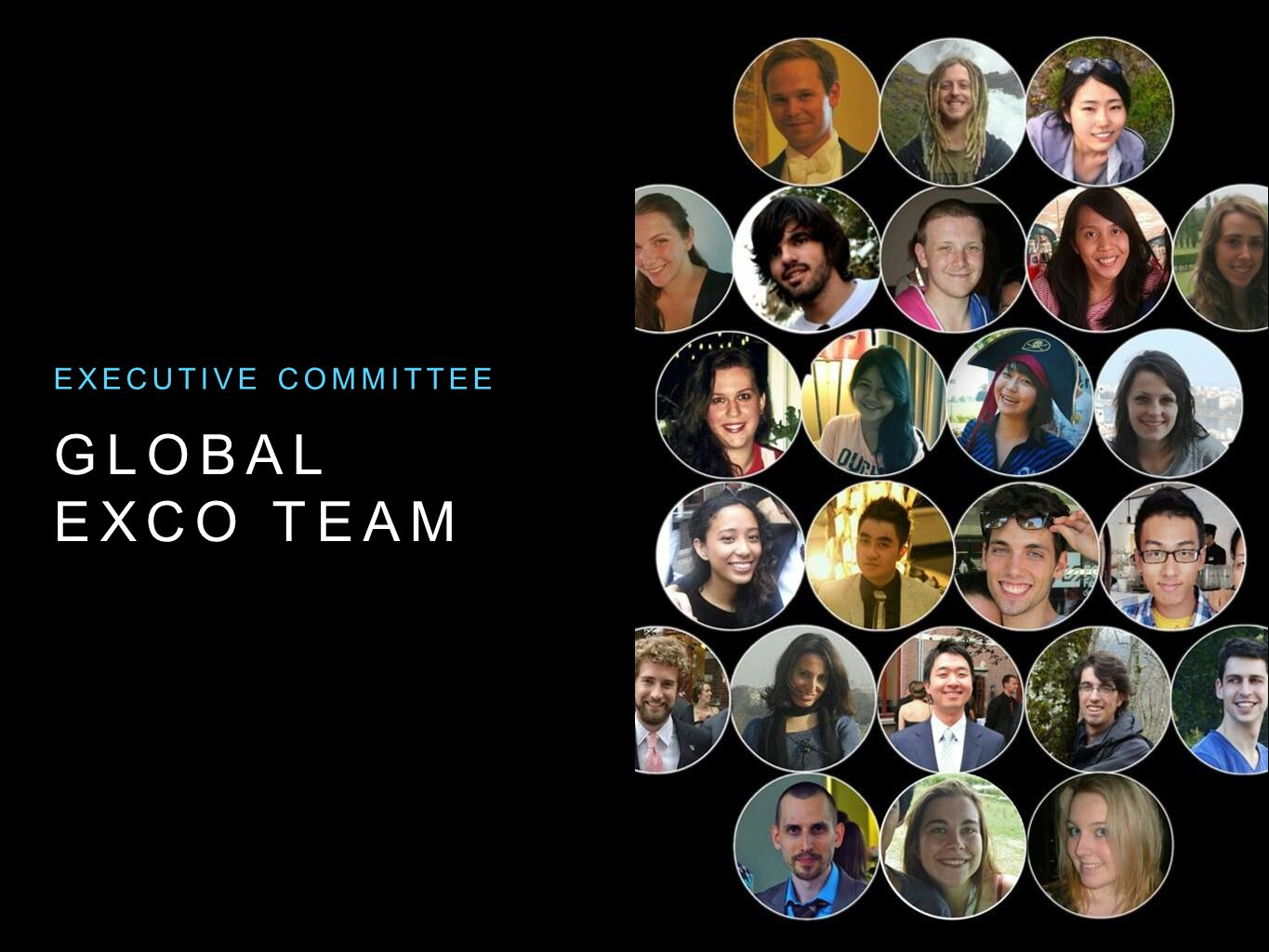 Executive committee Global Exco team