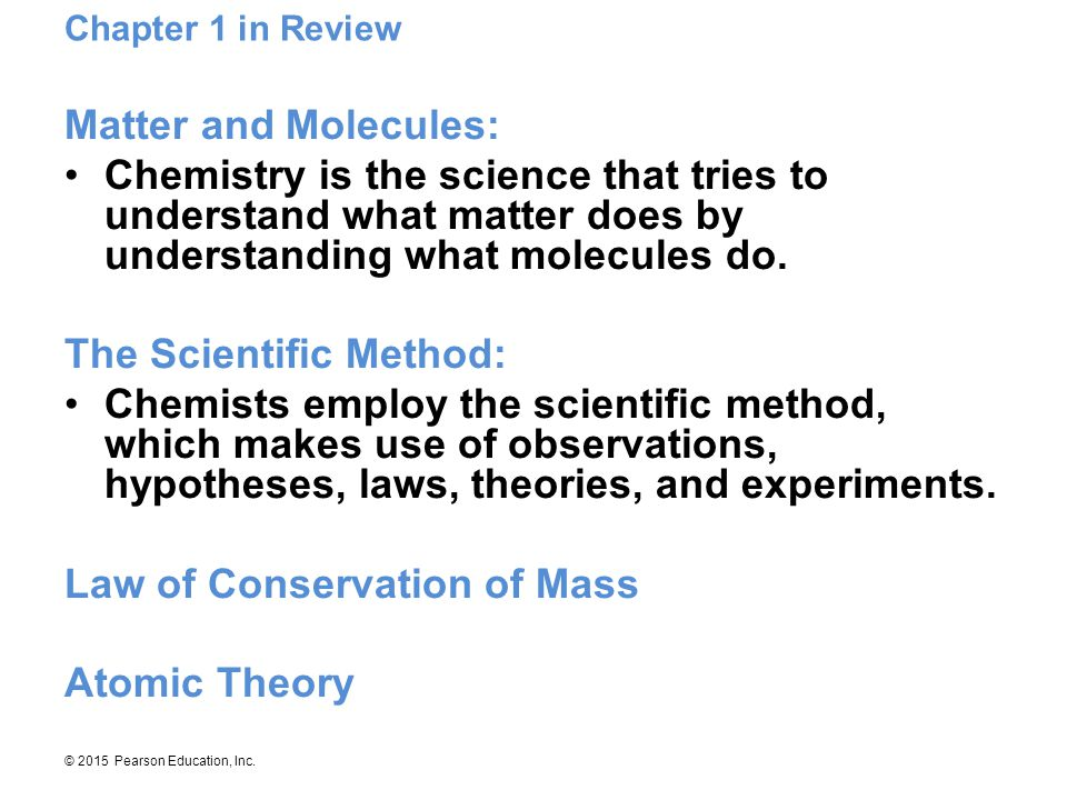 The Scientific Method: