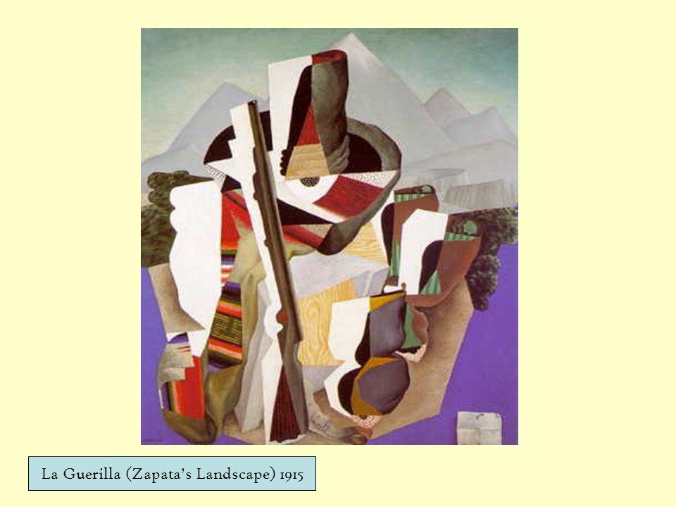 La Guerilla (Zapata's Landscape) 1915