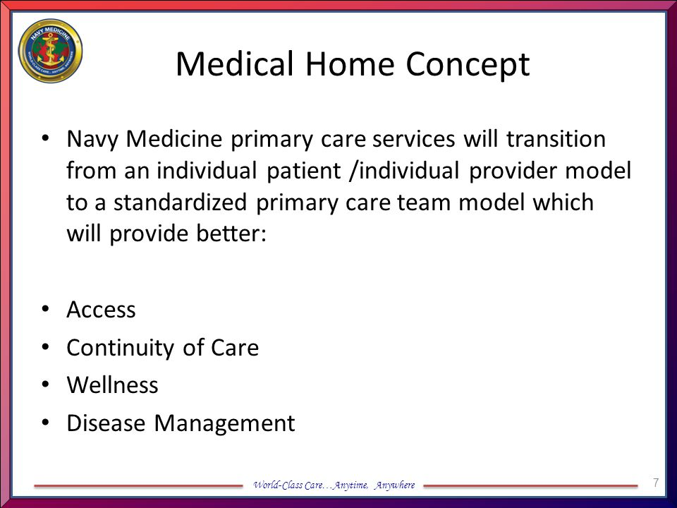 Medical Home Concept