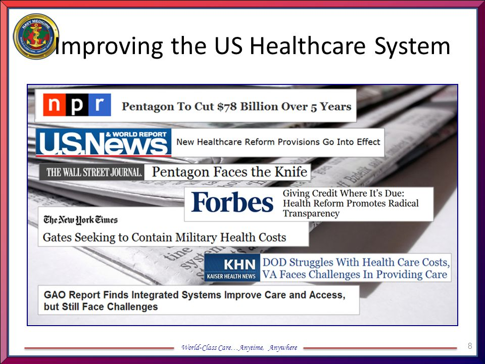 Improving the US Healthcare System