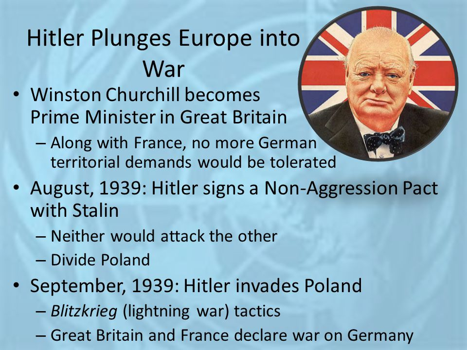 Hitler Plunges Europe into War