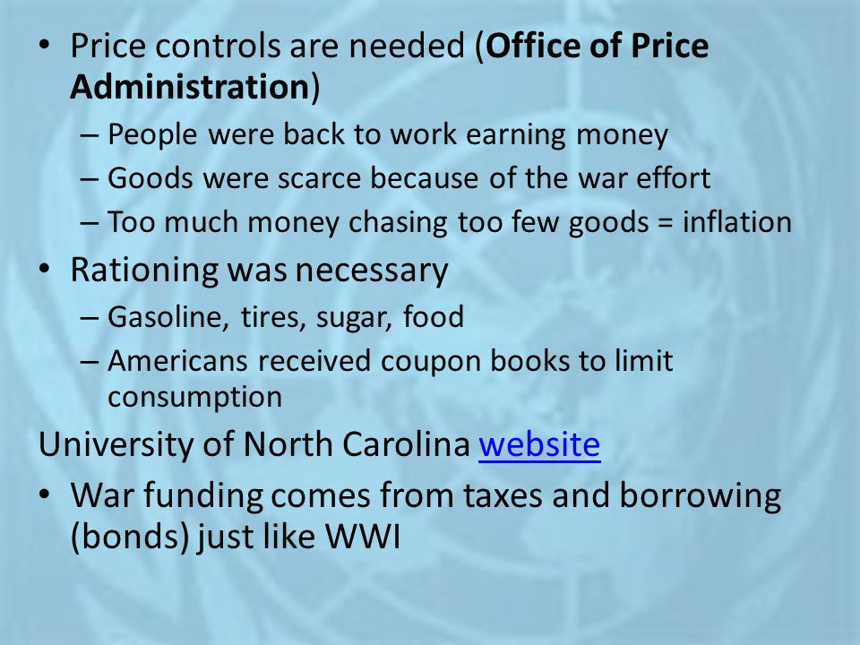 Price controls are needed (Office of Price Administration)