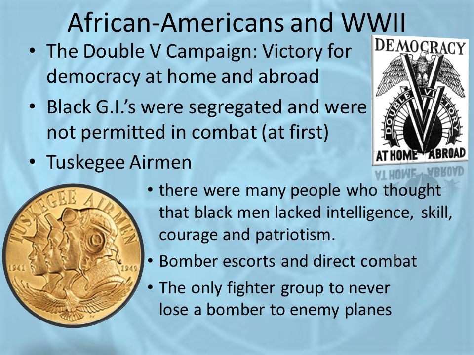 African-Americans and WWII