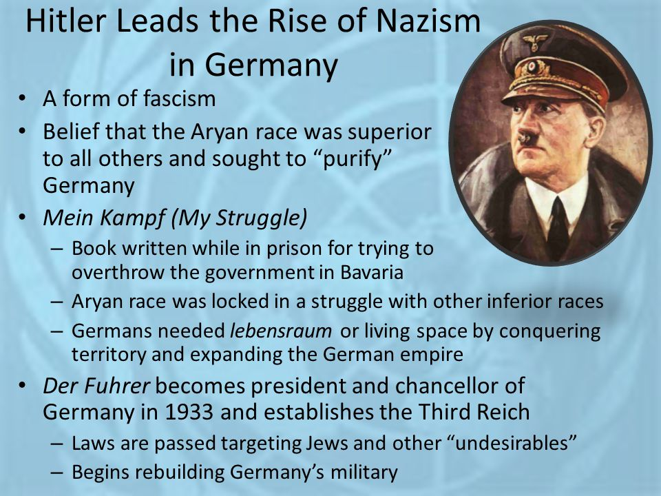 Hitler Leads the Rise of Nazism in Germany