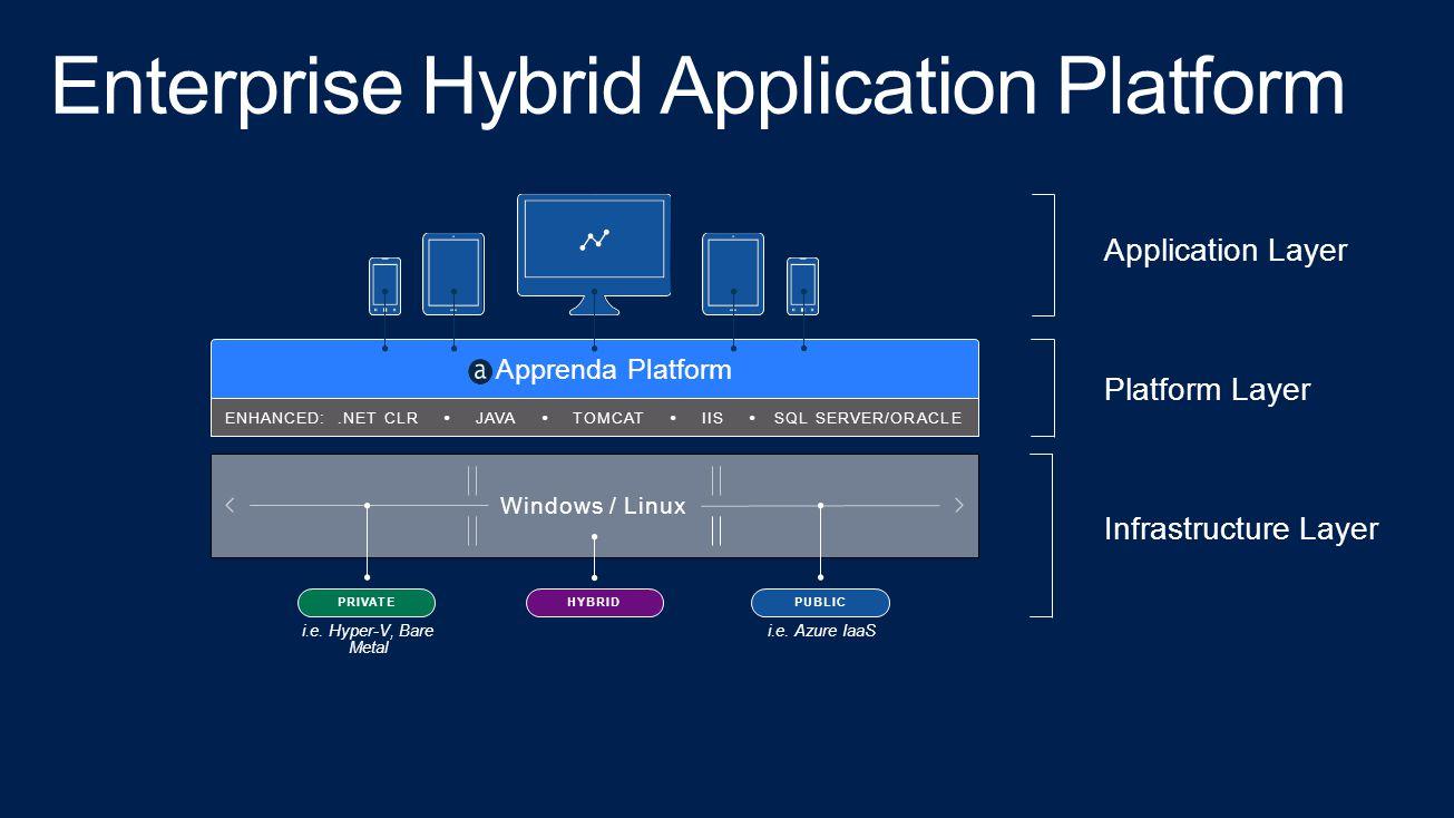 Enterprise Hybrid Application Platform