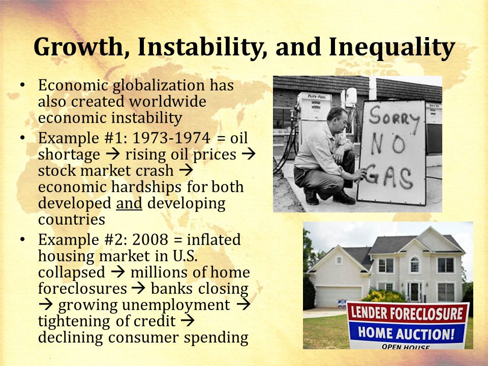 Growth, Instability, and Inequality