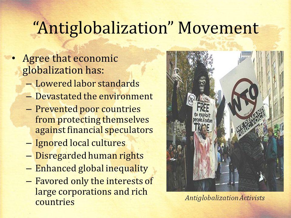 Antiglobalization Movement