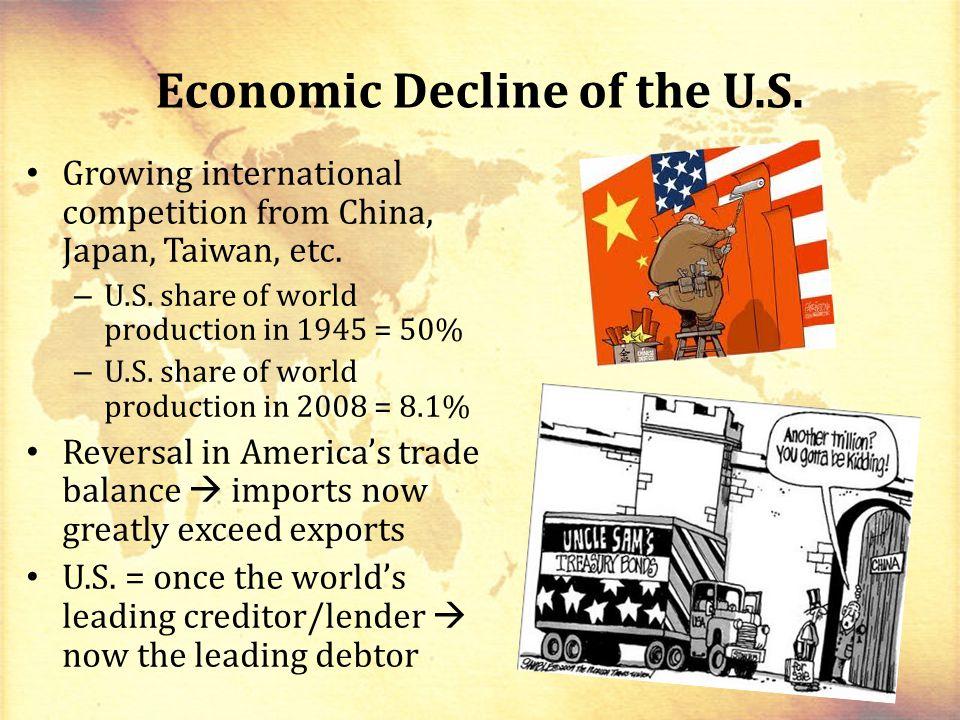 Economic Decline of the U.S.