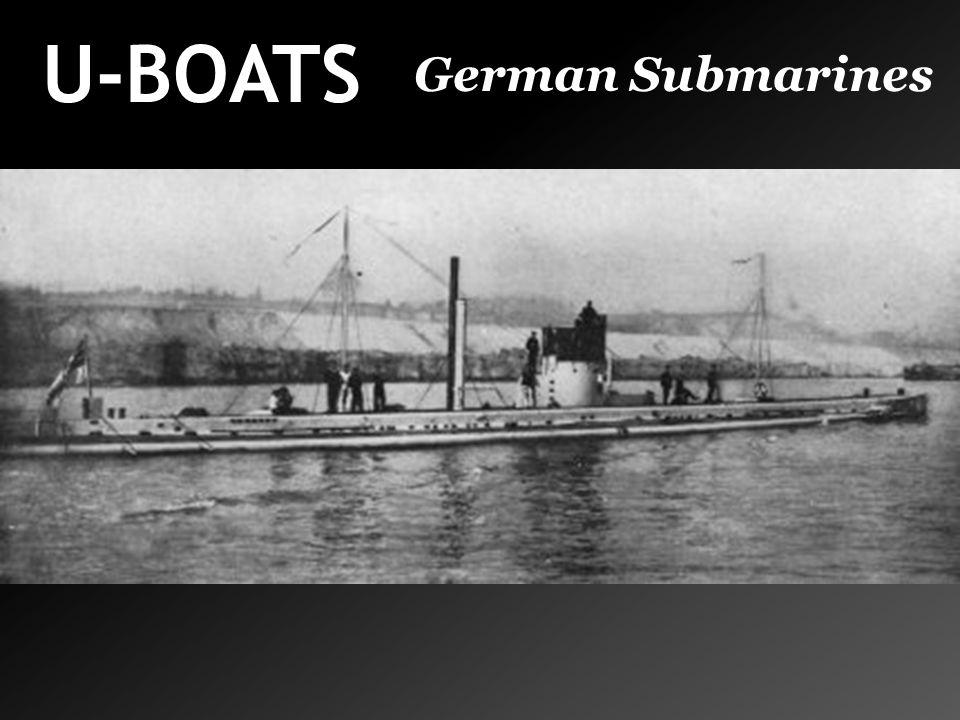 U-BOATS German Submarines