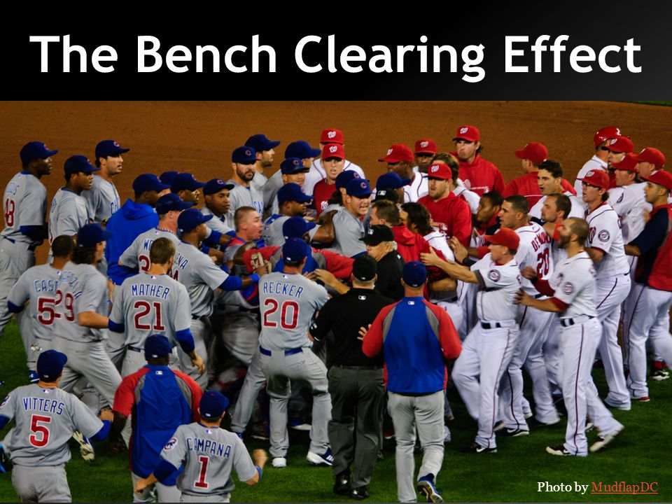 The Bench Clearing Effect