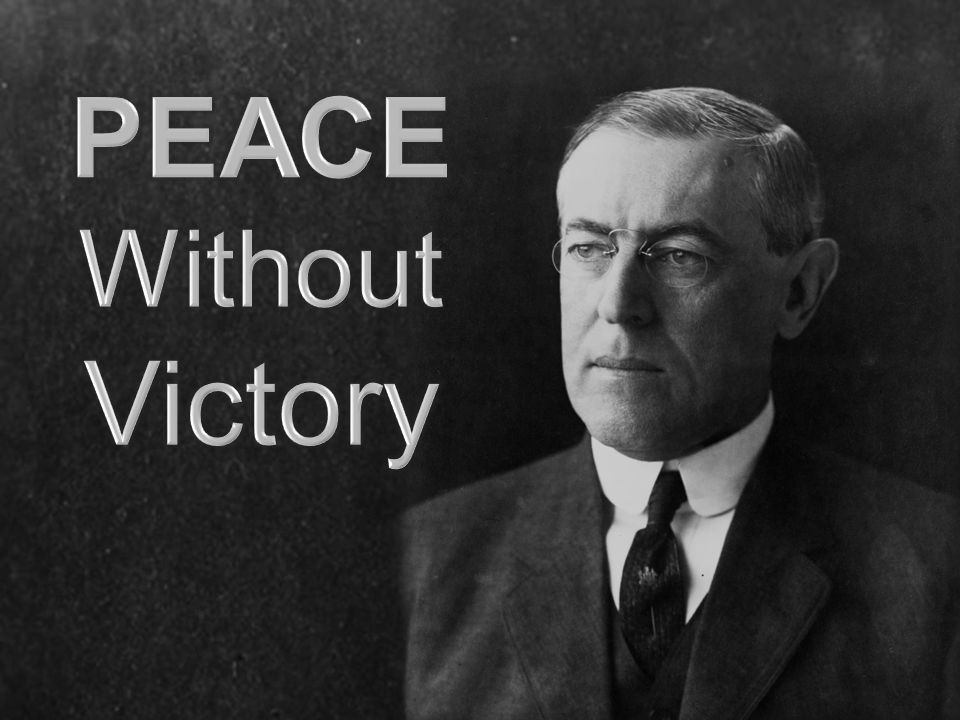 PEACE Without Victory