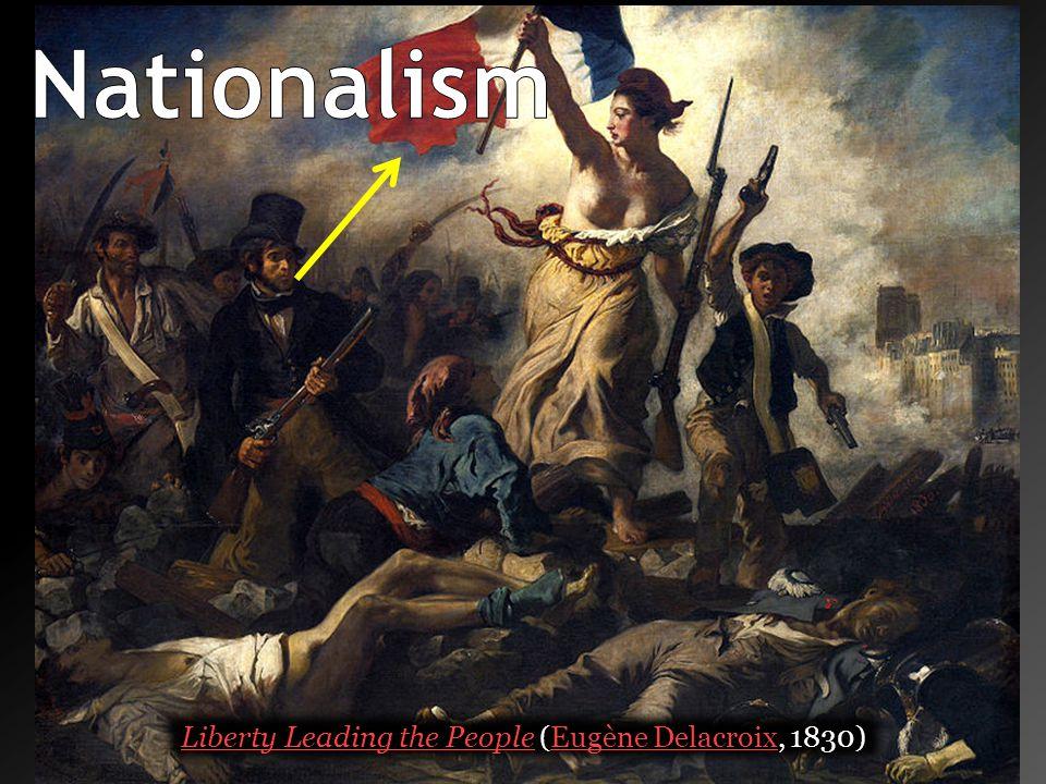 Liberty Leading the People (Eugène Delacroix, 1830)