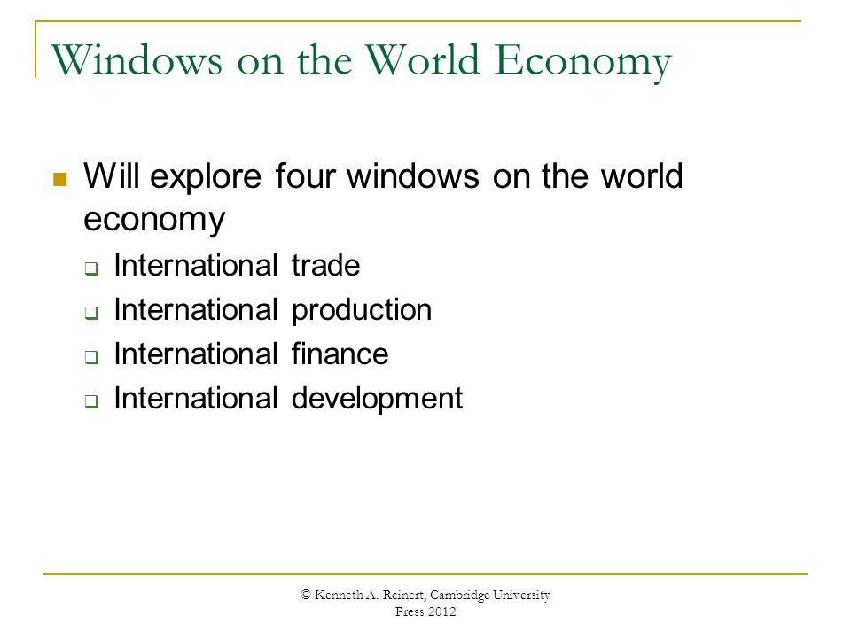 Windows on the World Economy