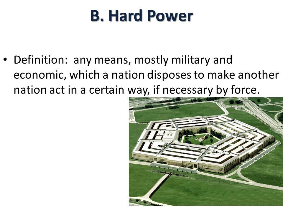 B. Hard Power