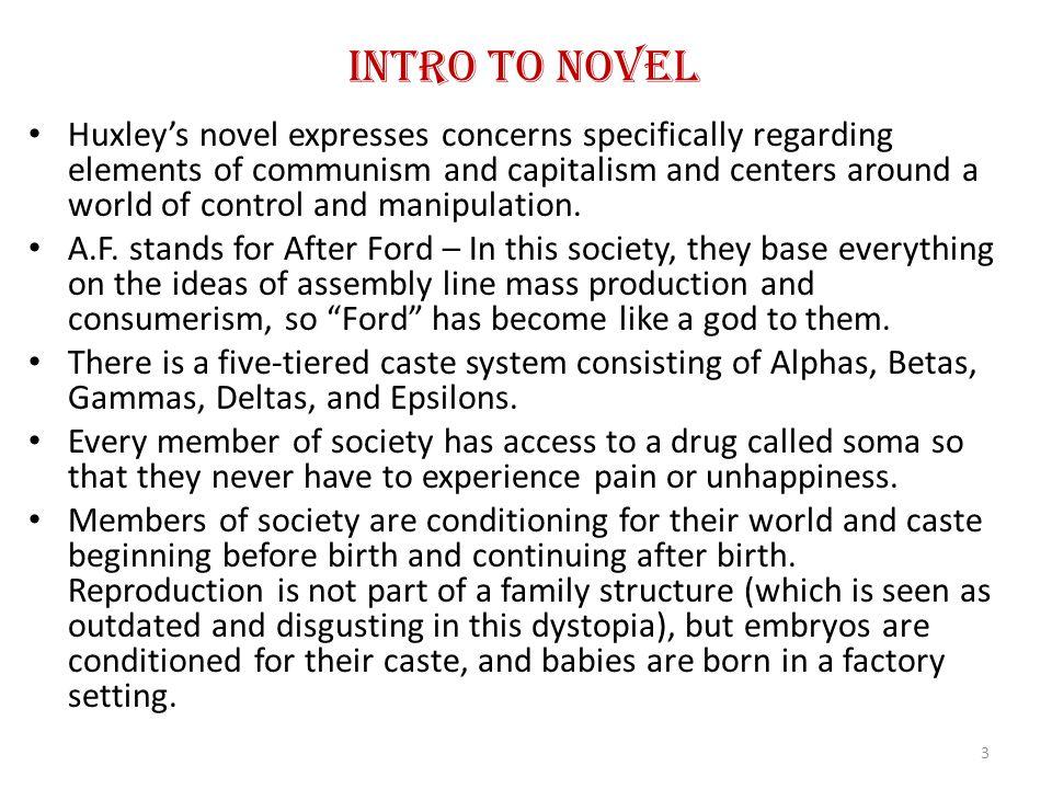 Intro to Novel