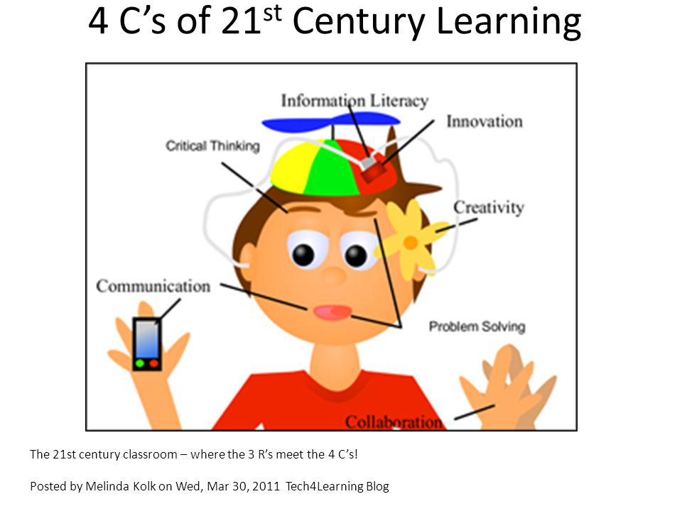 4 C's of 21st Century Learning