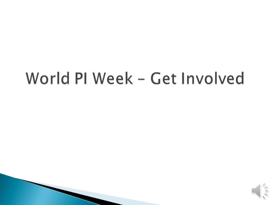 World PI Week – Get Involved