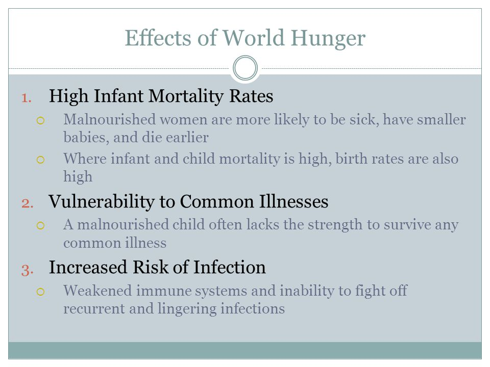 Effects of World Hunger