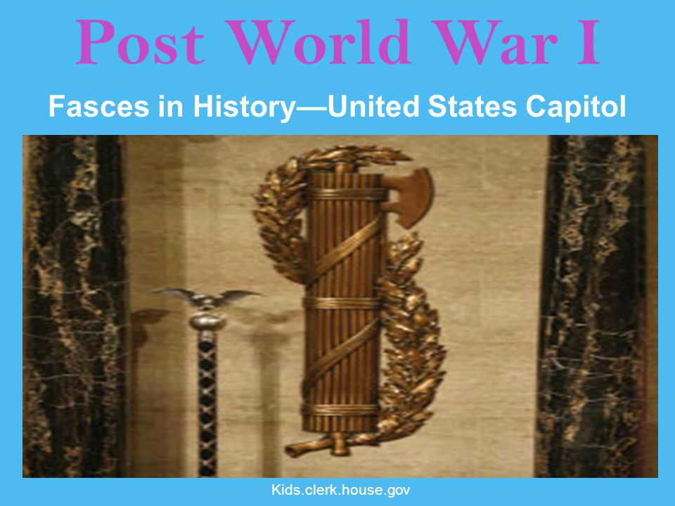 Fasces in History—United States Capitol