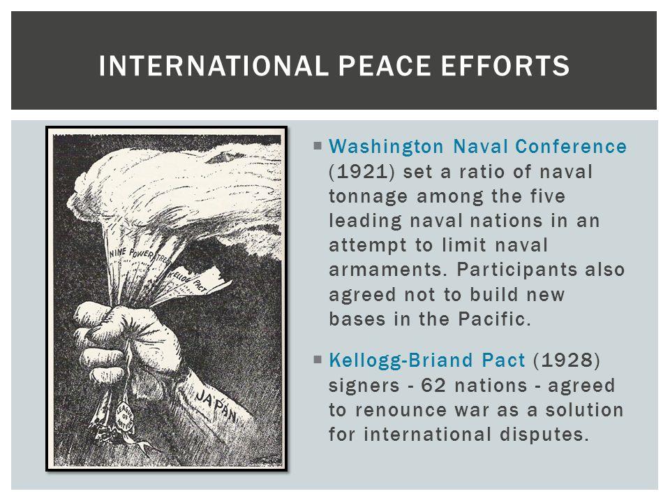 International Peace Efforts