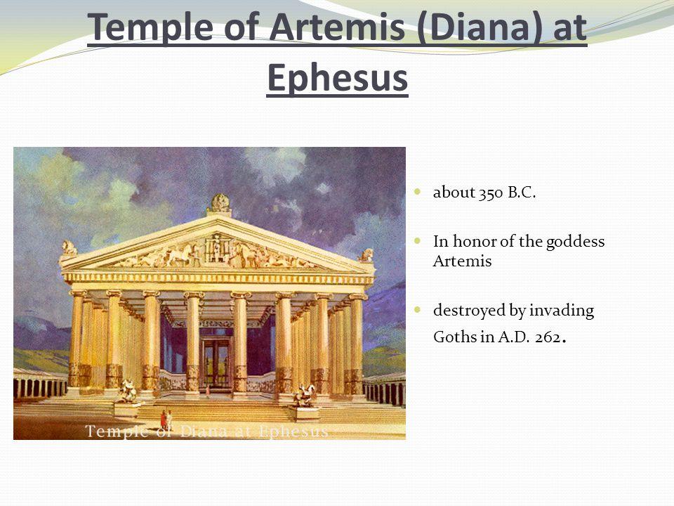 Temple of Artemis (Diana) at Ephesus