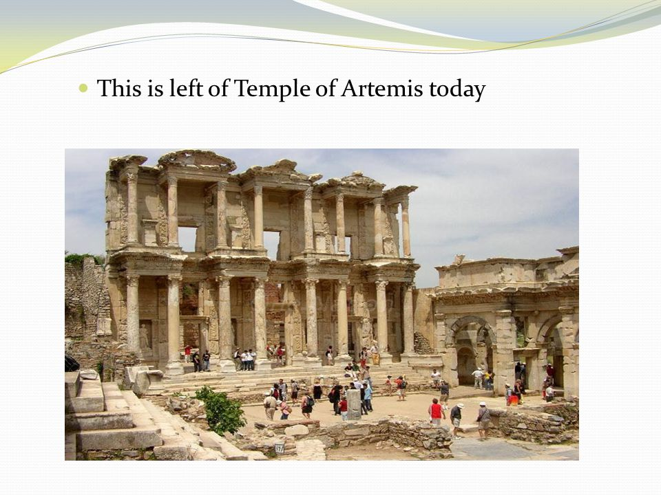 This is left of Temple of Artemis today