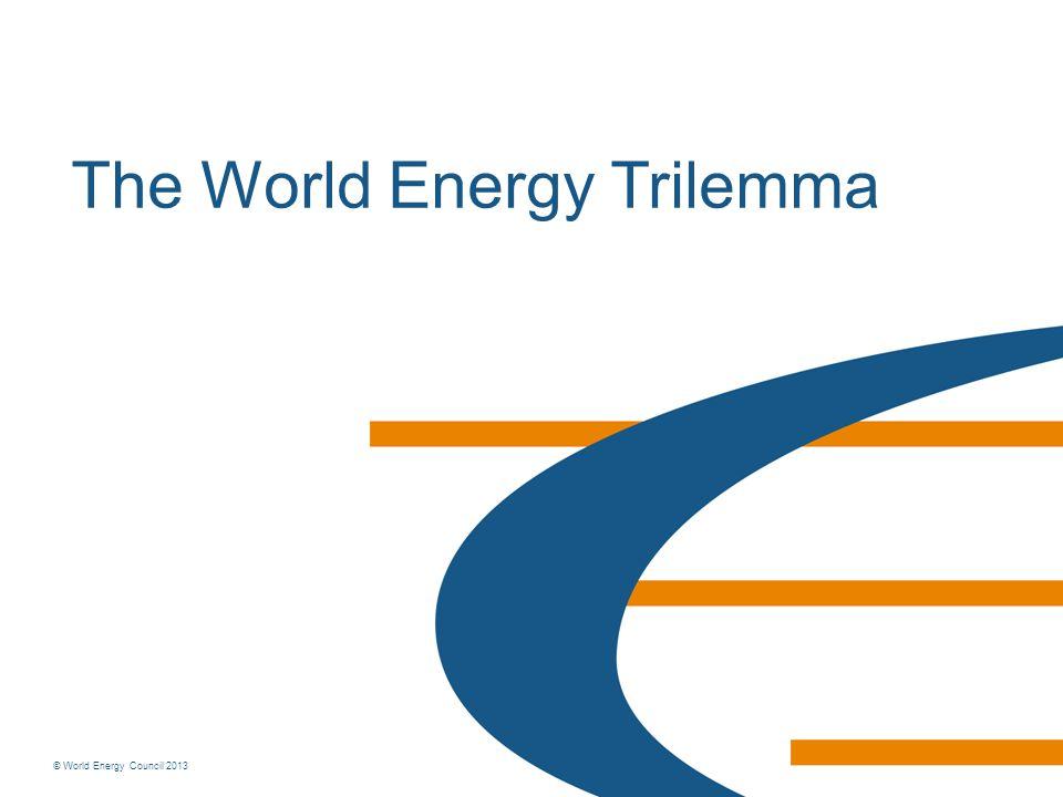The World Energy Trilemma