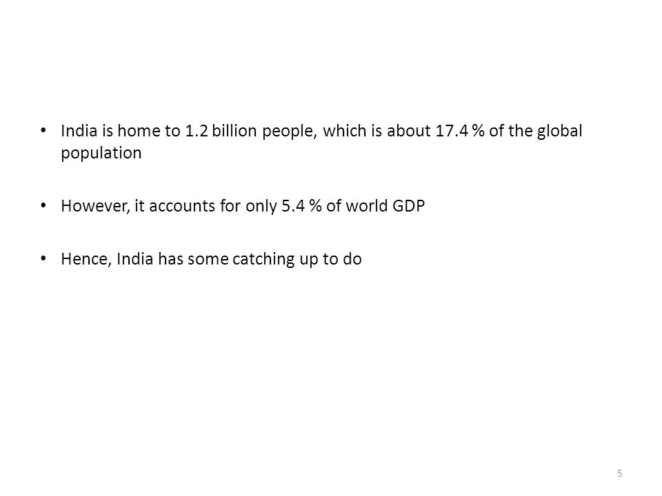 India is home to 1. 2 billion people, which is about 17