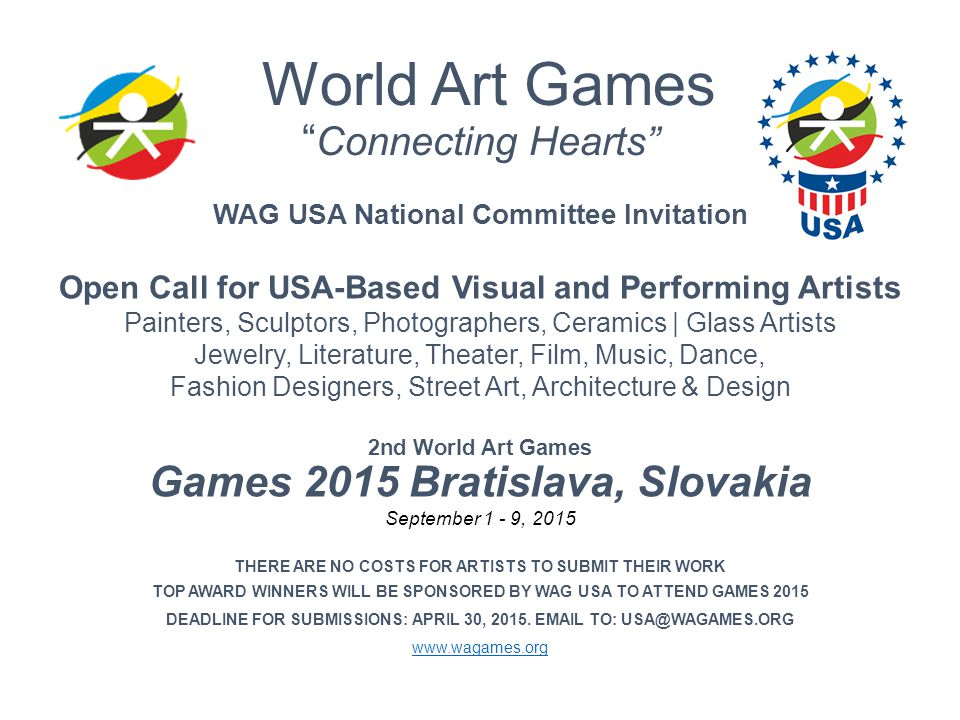 World Art Games Connecting Hearts