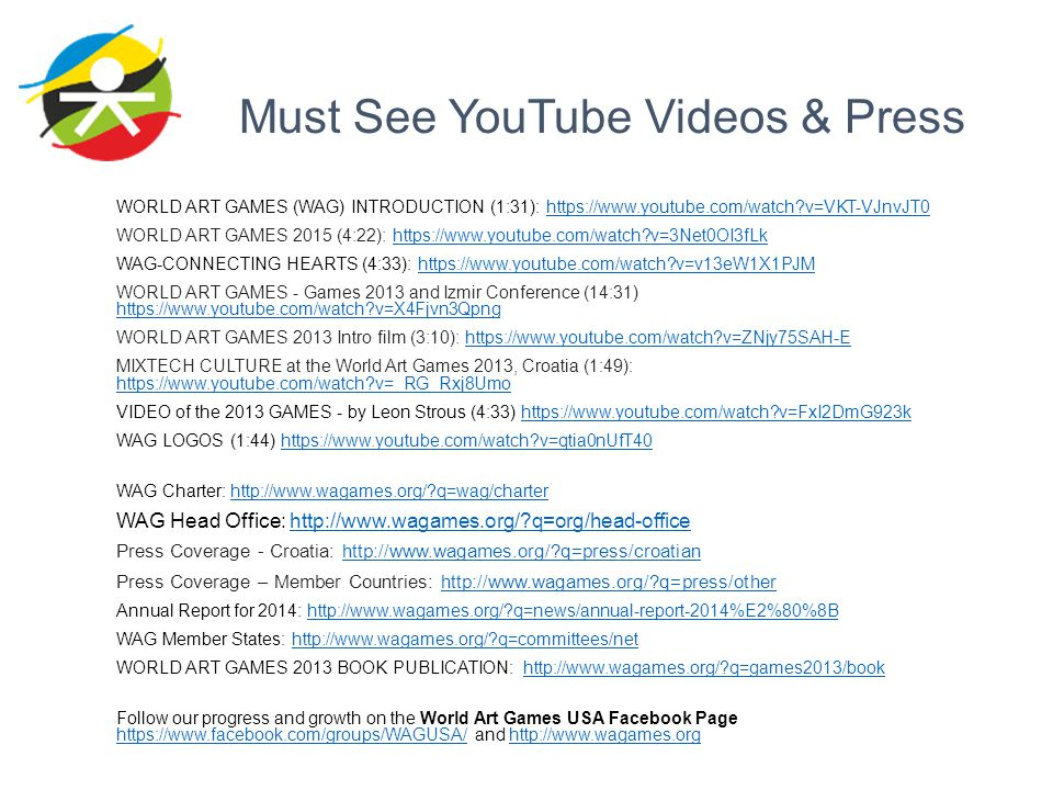 Must See YouTube Videos & Press