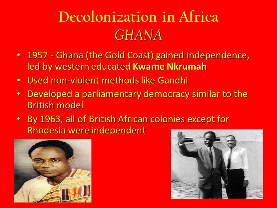 Decolonization in Africa GHANA