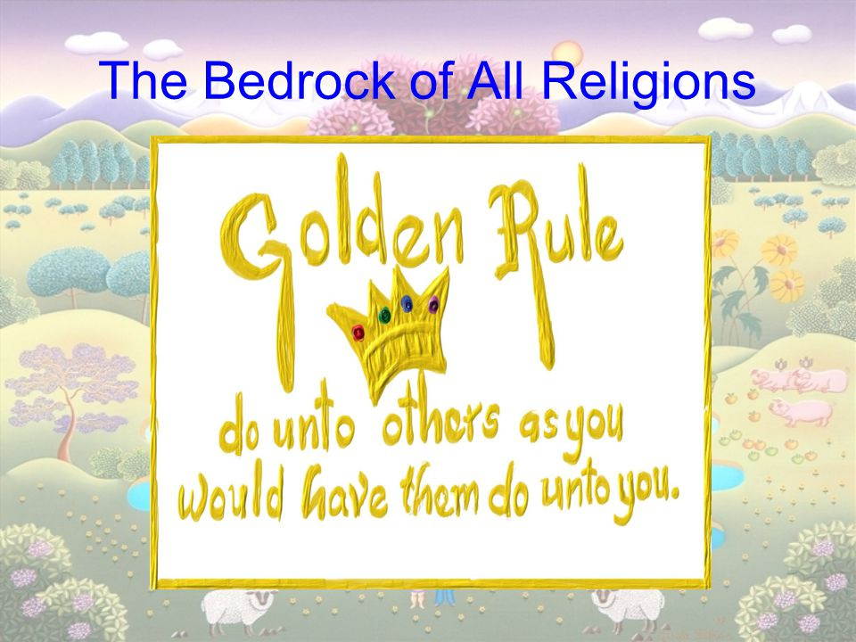 The Bedrock of All Religions