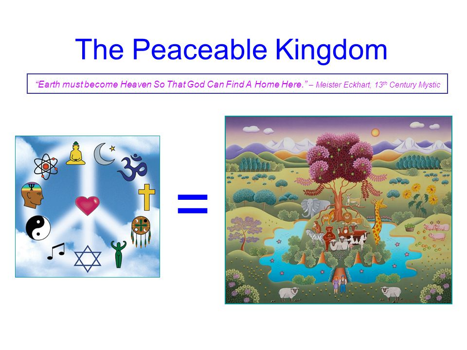 = The Peaceable Kingdom