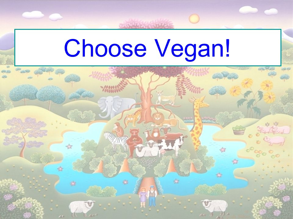 Choose Vegan!