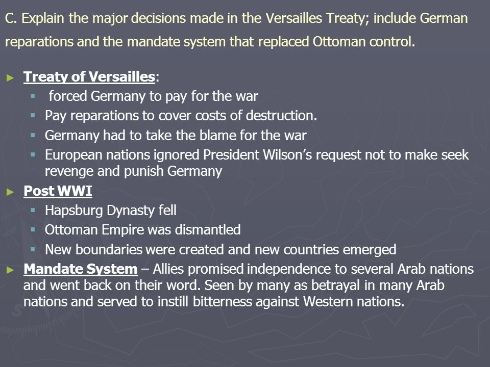 mandate system in germany An overview of the mandate system in the of the mandate system of the middle east issued at a time when many jews wanted to flee germany and the.