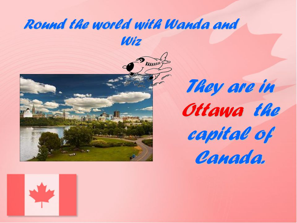 They are in Ottawa the capital of Canada.